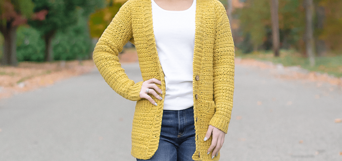 Harvest Cardigan Crochet Pattern