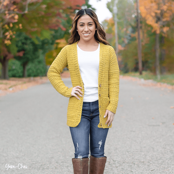 Harvest Cardigan Crochet Pattern