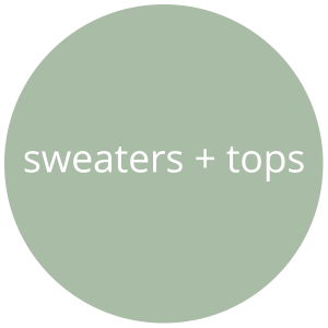 sweater and top patterns