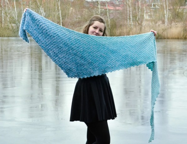 tomis wave shawl pattern 4