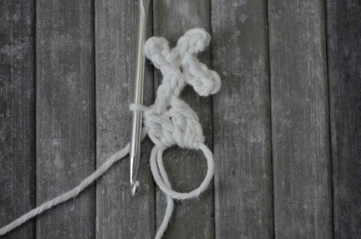 Easy snowflake crochet pattern yarnandy 20