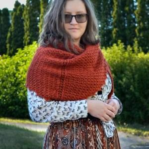 Porphyry shawl Tunisian crochet pattern yarnandy 9 scaled