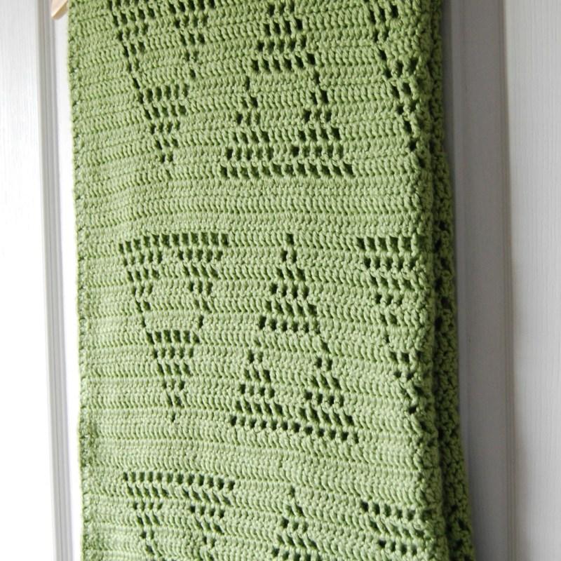 Triangle Motif Baby Blanket – Free Crochet Pattern