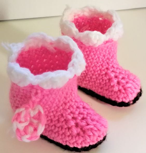 Free Shipping Doll Pink Pom Sweater + Boots Shoe + Fingerless Glove + Pants  Doll Outfits Clothes Dress Accessory For 18 Inch American Girl Daughter ... 5d422442c31a