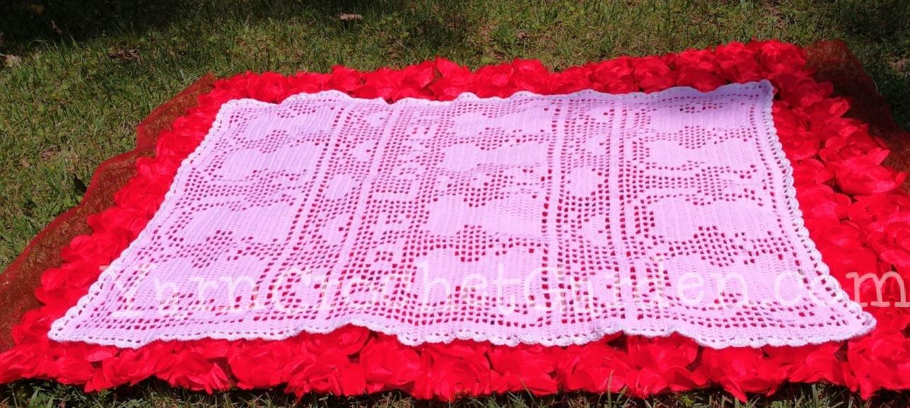 Crochet Black Cat Doily Pattern KC1814 Advanced | Etsy | 577x1287