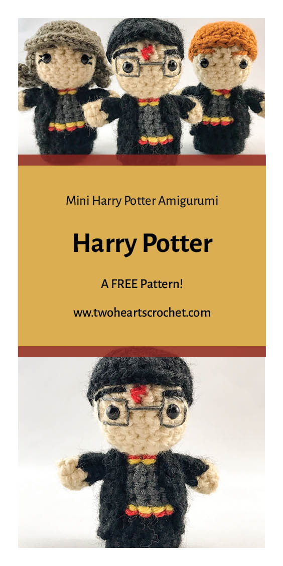 Crochet Harry Potter Doll Harry Potter Mini Amigurumi