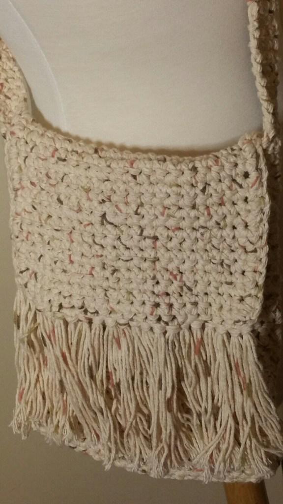 Summer's Ready Cotton Crossbody Bag