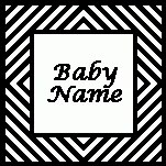 Diagonals Frame Personalized Blanket – (Chart/Graph AND Row-by-Row Written Instructions)