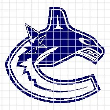 Vancouver Canucks – (Chart/Graph AND Row-by-Row Written Instructions)