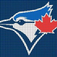 Toronto Blue Jays (Graph AND Row-by-Row Written Crochet Instructions) - 01