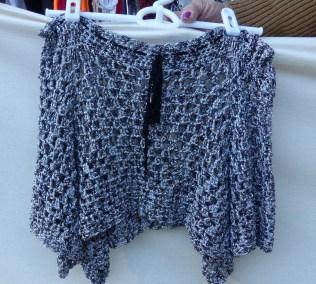 Sparkling shawl
