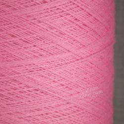 2/30s extra fine zegna baruffa cashwool baby pink pure merino knitting machine wool yarn cone