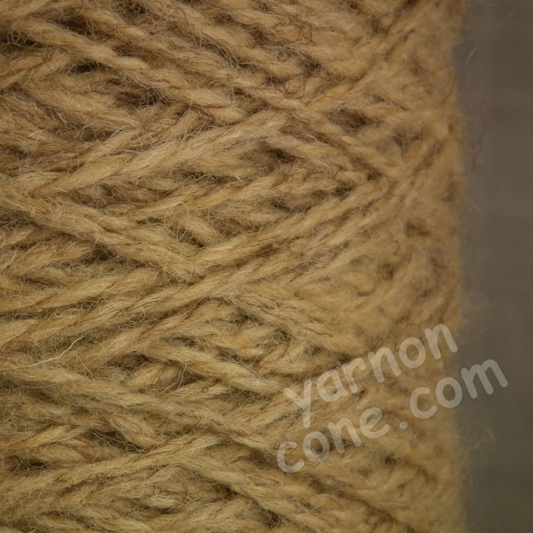 Berber rug making carpet yarn weaving latch hook corn berber beige tweed BB43 wool cone