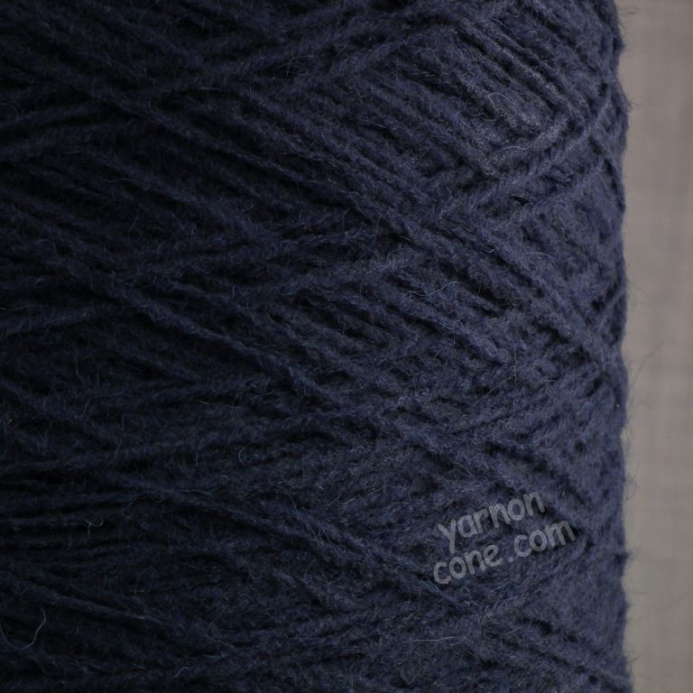 alpaca merino wool blend soft 4 ply hand and machine knitting yarn on cone uk navy blue
