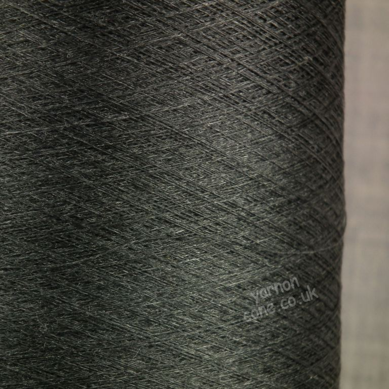 Pure silk cobweb yarn 2/120 NM italian 2/120NM on cone weaving knitting - melange shade
