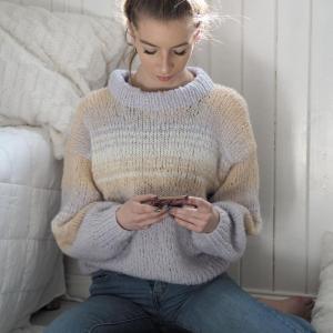 Enkeltoppskrifter - Simplicity-sweater-i-Deilig