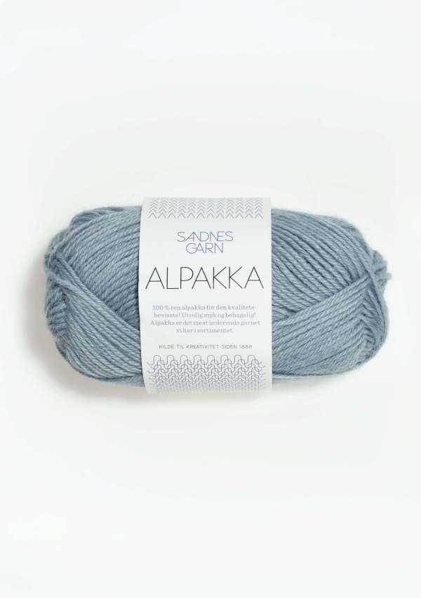 Sandnes Alpakka: 6531 - Isblå
