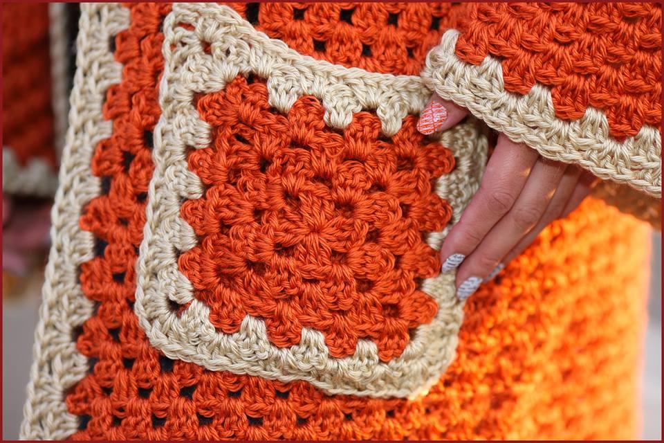Crochet Tutorial: Hexagonal Granny Hooded Cardigan