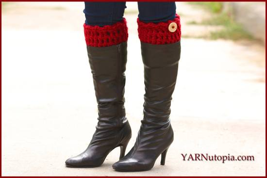 Simple Chunky Boot Cuffs