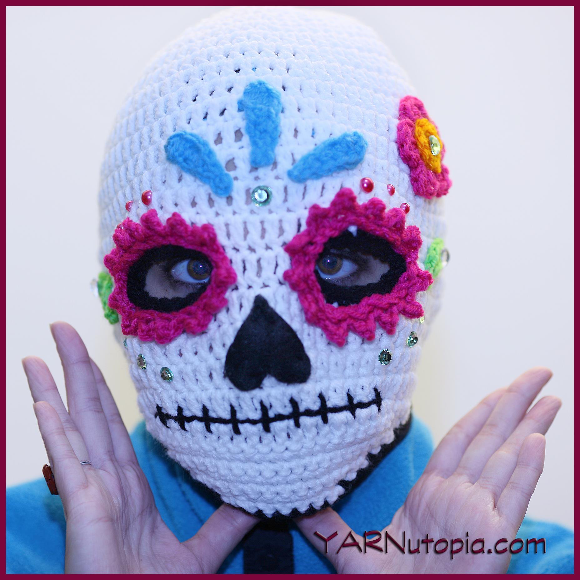 Skull Snowflake Crochet Free Patterns - Crochet & Knitting | 1856x1856
