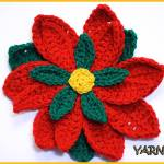 Crochet Tutorial: Poinsettia