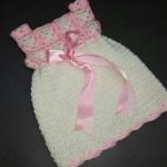 Crochet Tutorial: Mini Square Baby Dress