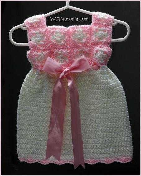 Mini Square Baby Dress