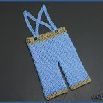 Crochet Tutorial: Baby Boy Knickers with Suspenders