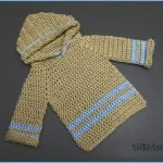 Crochet Tutorial: Infant Pullover Hoodie