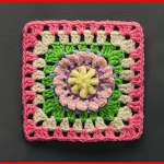 Crochet Tutorial: Hey Daisy Bouquet Granny Square