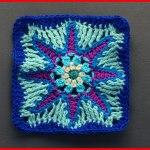 Crochet Tutorial: Celestial Delight Granny Square
