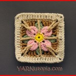 Crochet Tutorial: In the Garden Granny Square