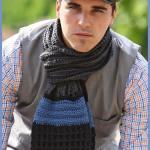 Crochet Tutorial: Classic Man Scarf