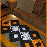 Crochet Tutorial: Halloween Table Runner