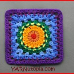Crochet Tutorial: Soul Shine Granny Square