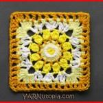 Crochet Tutorial: Sublime Light Granny Square