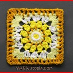Crochet Tutorial: Sublime Light Granny Square