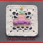 Crochet Tutorial: Birthday Wish Granny Square