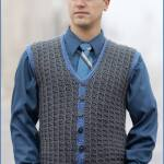 Crochet Tutorial: Sharp Dressed Man Vest