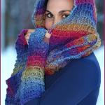 Crochet Tutorial: Warm Waffles Hooded Cowl