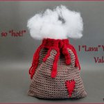 Crochet Tutorial: Volcano Bag