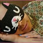 Crochet Tutorial: Feline Rested Sleep Mask