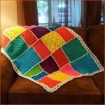 Crochet Tutorial: Dream-Time Mosaic Baby Quilt