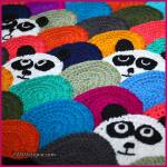 Crochet Tutorial: Roly Poly Panda Quilt