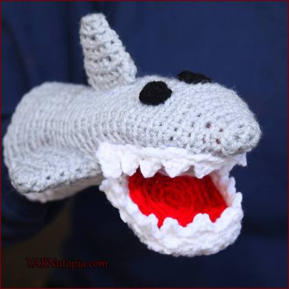 """f14f397f2cc ... Shark Week designing and sharing """"jaw-some"""" things shark related. I  decided to """"sink my teeth"""" into a great idea and make this fun puppet  creation!"""