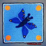 Crochet Tutorial: Butterfly Lovey