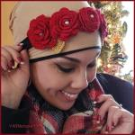 How to Crochet Tutorial: Rose Flower Headband & Floral Wedding Bouquet