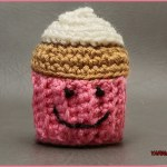 Crochet Tutorial: Cupcake Amigurumi