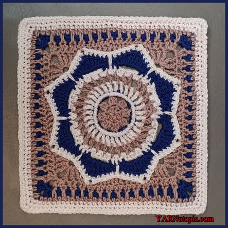 Crochet Tutorial Where Love Grows Afghan Block Yarnutopia By