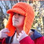 FREE Crochet Video Tutorial: Blaze Orange Woodsman Hat